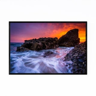 Noir Gallery Laguna Beach California Sunset Framed Art Print
