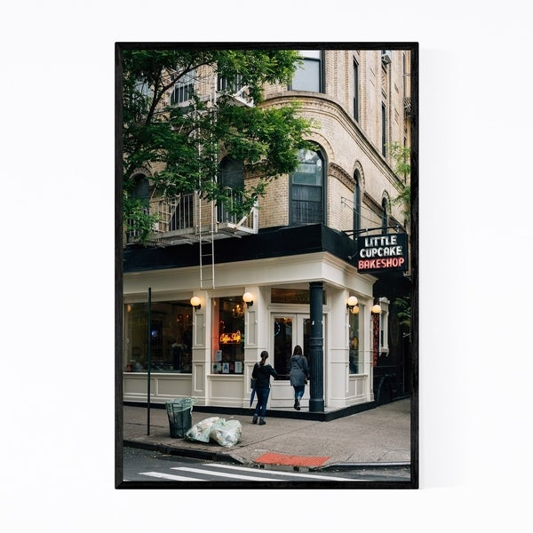 Noir Gallery Cupcake Shop Manhattan New York Framed Art Print