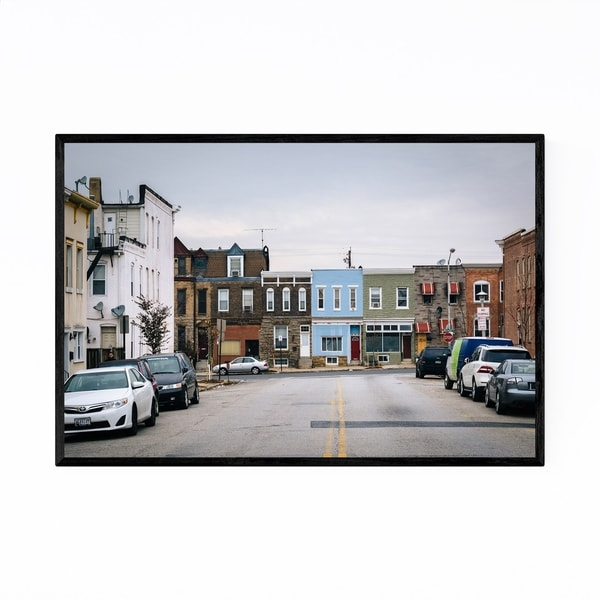 Noir Gallery Highlandtown Baltimore Maryland Framed Art Print
