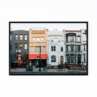 Noir Gallery Adams Morgan Washington DC Framed Art Print