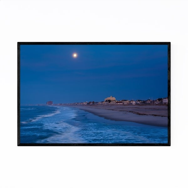 Noir Gallery Ventnor City, New Jersey Coastal Framed Art Print