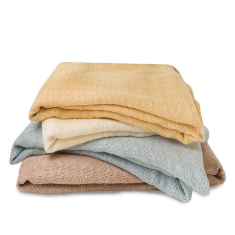 BedVoyage Rayon from Bamboo / Viscose Travel/Throw Blanket