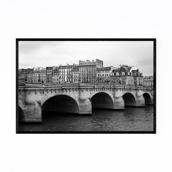 Noir Gallery Pont Neuf Paris France Seine Framed Art Print