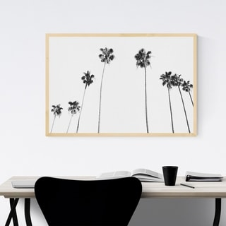 Noir Gallery California Palm Tree Photography Framed Art Print
