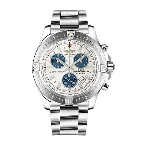 Breitling Men's A7338811-G790-173A 'Colt Chronograph' Chronograph Stainless Steel Watch