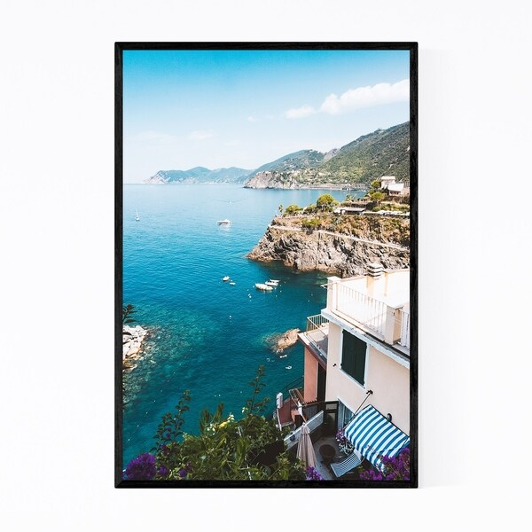 Noir Gallery Manarola Cinque Terre Italy Framed Art Print