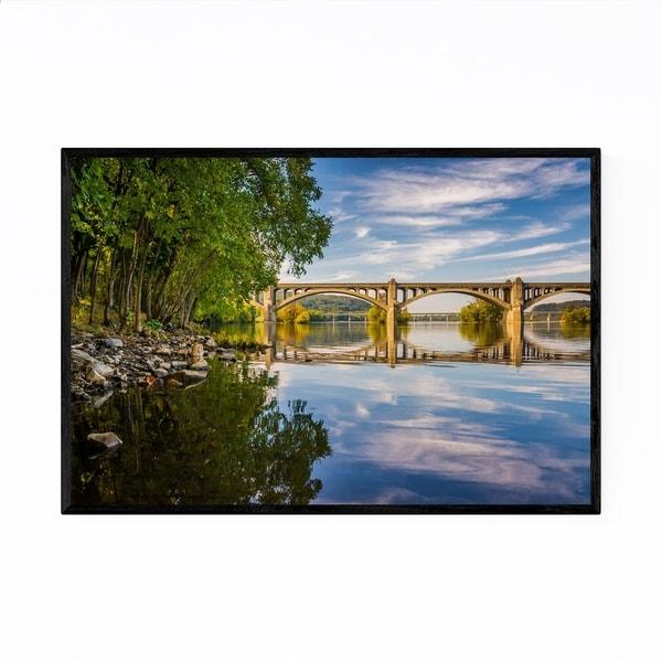 Noir Gallery Wrightsville Pennsylvania Bridge Framed Art Print