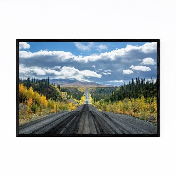 Noir Gallery Dempster Highway Yukon Canada Framed Art Print