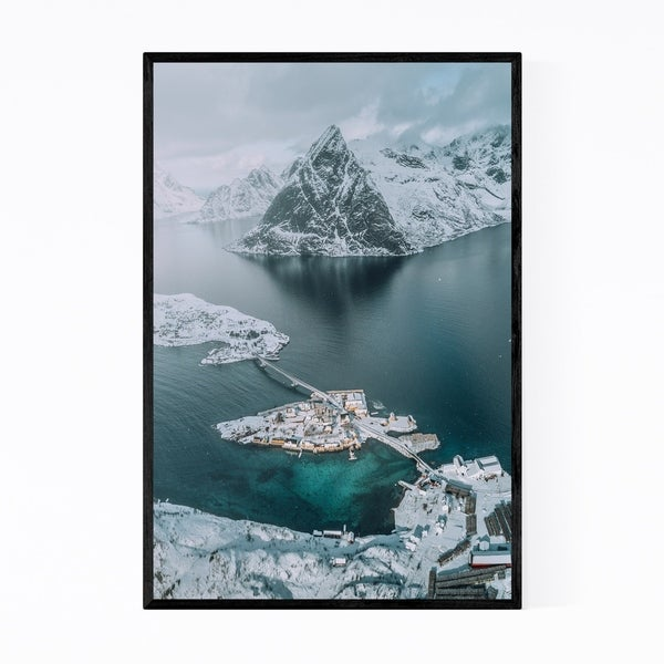 Noir Gallery Lofoten Norway Nature Photo Framed Art Print