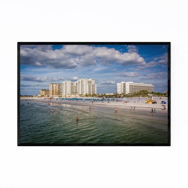 Noir Gallery Clearwater Beach Florida Coastal Framed Art Print