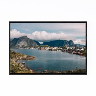 Noir Gallery Reine Lofoten Islands Norway Framed Art Print