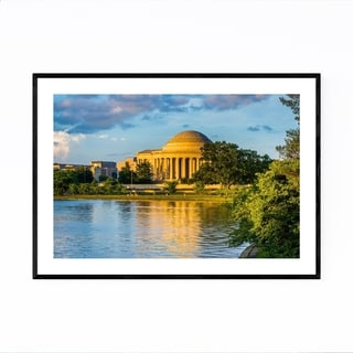 Noir Gallery Washington DC Cityscape Photo Framed Art Print