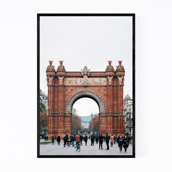 Noir Gallery Arc de Triomf Barcelona Spain Framed Art Print