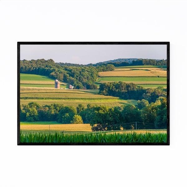 Noir Gallery Pennsylvania Farm Landscape Framed Art Print