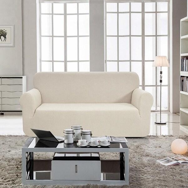 Shop Enova Home Jacquard Polyester Spandex Fabric Box