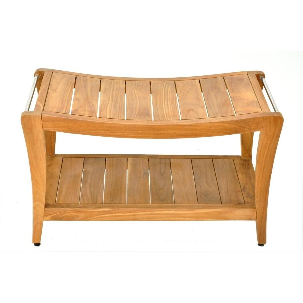 Remarkable Laplaya Natural Finish Teak Wood Bench Large Ibusinesslaw Wood Chair Design Ideas Ibusinesslaworg