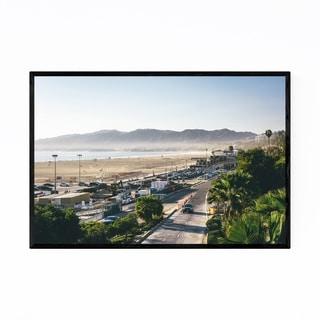 Noir Gallery Santa Monica Mountains CA Framed Art Print