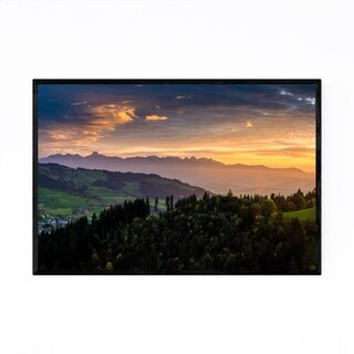 Noir Gallery Emmental Valley Bern Switzerland Framed Art Print