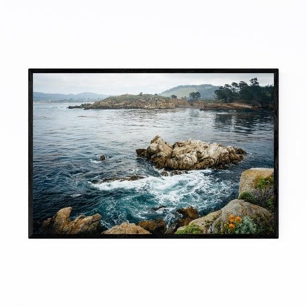 Noir Gallery Point Lobos Carmel California Framed Art Print