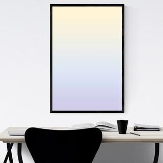 Noir Gallery Minimal Gradient Pastel Framed Art Print