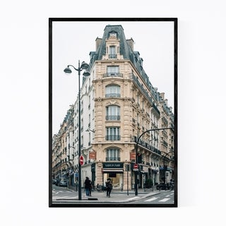Noir Gallery Paris France Architecture City Framed Art Print