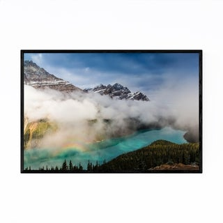 Noir Gallery Peyto Lake Banff Rockies Alberta Framed Art Print