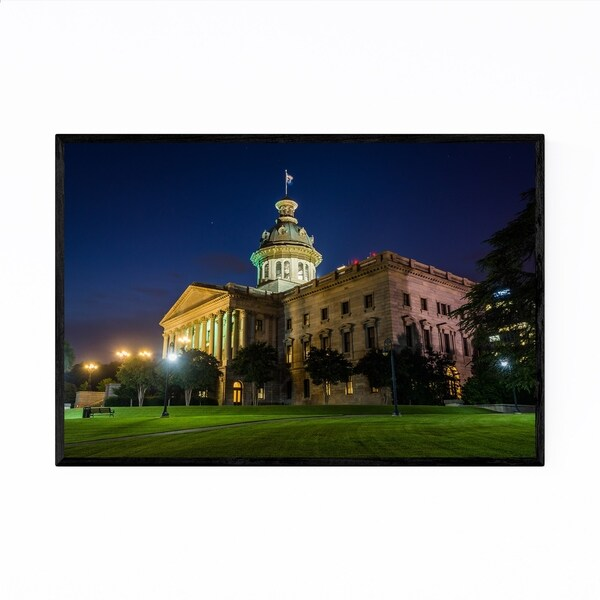 Noir Gallery South Carolina State House Framed Art Print