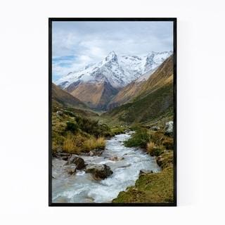 Noir Gallery Cusco Peru Mountains Landscape Framed Art Print