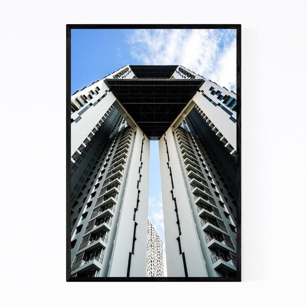 Noir Gallery Singapore Architecture Photo Framed Art Print
