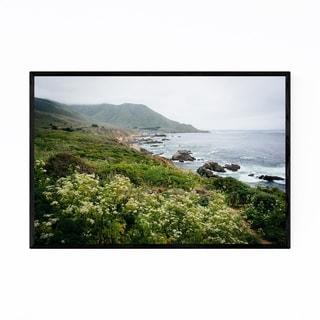 Noir Gallery Mountains Big Sur California Framed Art Print