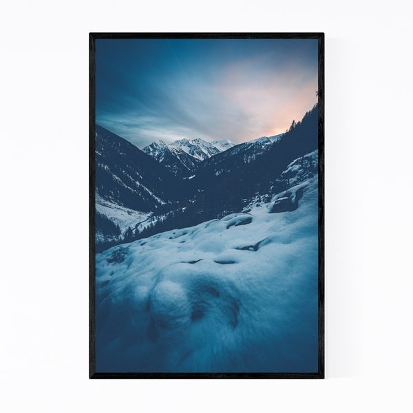 Noir Gallery Val di Rabbi South Tyrol Italy Framed Art Print