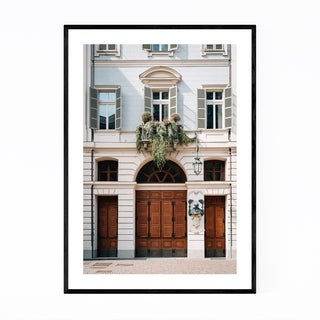 Noir Gallery Turin Italy Architecture Photo Framed Art Print