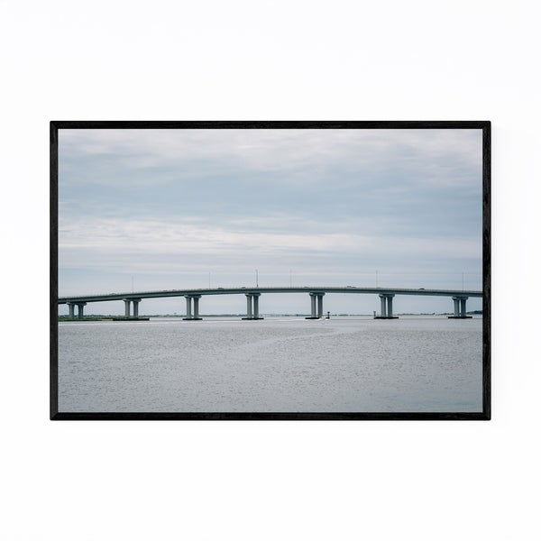 Noir Gallery Ocean City, New Jersey Framed Art Print