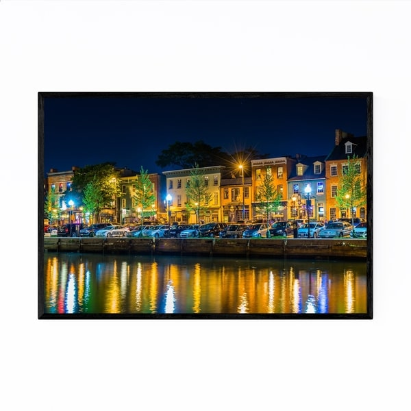 Noir Gallery Annapolis, Maryland Waterfront Framed Art Print