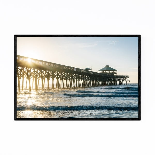 Noir Gallery Coastal South Carolina Beach Framed Art Print