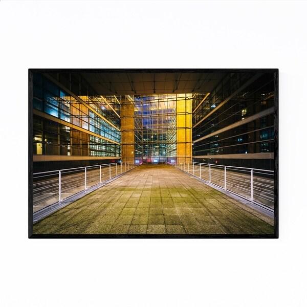 Noir Gallery Paris La Défense Architecture Framed Art Print