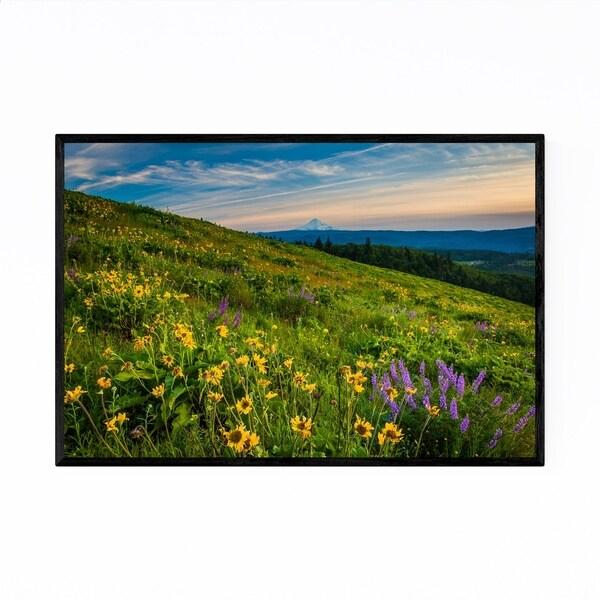 Noir Gallery Oregon Mount Hood Landscape Framed Art Print