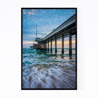 Noir Gallery Coastal Venice Beach California Framed Art Print