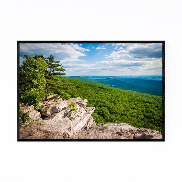 Noir Gallery Annapolis Rocks MD Mountains Framed Art Print