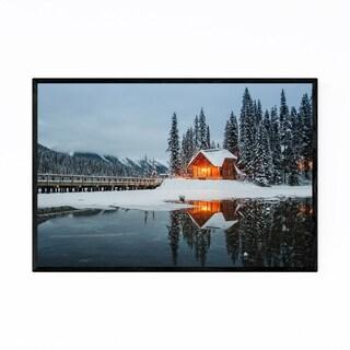 Noir Gallery Emerald Lake Yoho National Park Framed Art Print