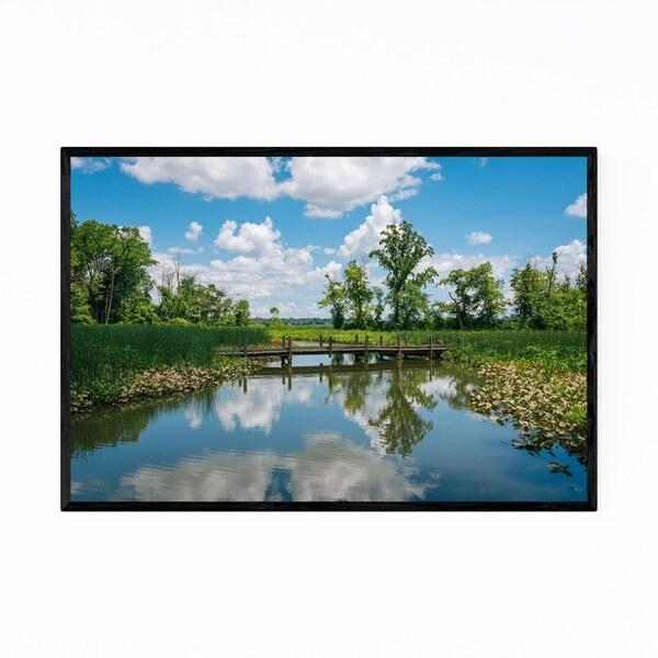 Noir Gallery Potomac River Landscape Virginia Framed Art Print