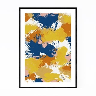 Noir Gallery Abstract Watercolor Splatter Framed Art Print