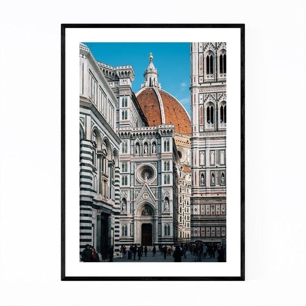 Noir Gallery Florence Italy Duomo Photo Framed Art Print