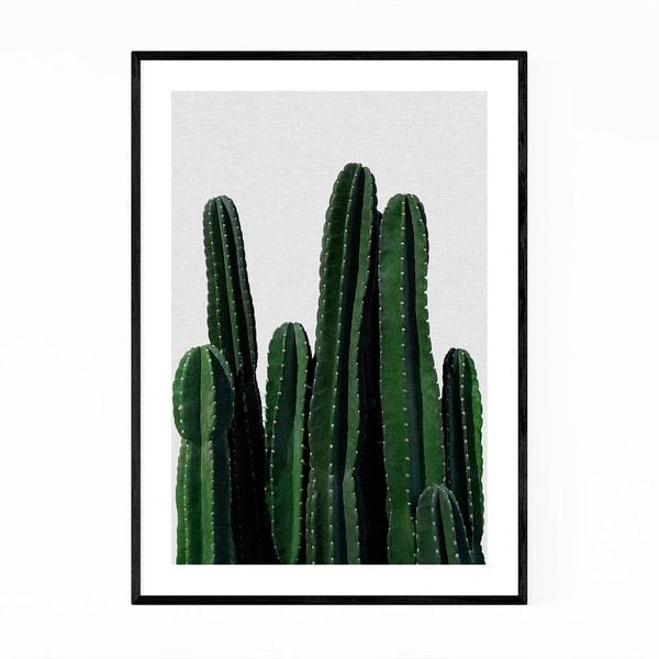 Noir Gallery Cactus Desert Minimal Photo Framed Art Print