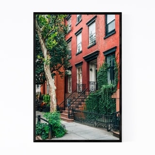 Noir Gallery West Village House New York City Framed Art Print