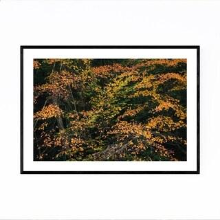 Noir Gallery Autumn Fall Foliage Minnewaska Framed Art Print