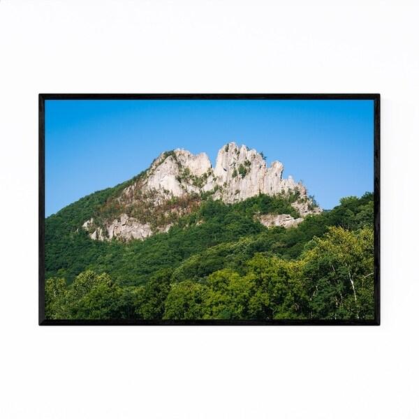 Noir Gallery West Virginia Seneca Rocks Framed Art Print