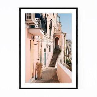 Noir Gallery Amalfi Coast Italy Photography Framed Art Print