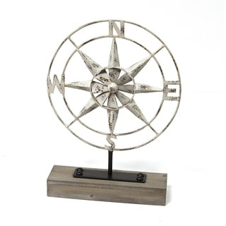The Gray Barn Metal Compass Table Top