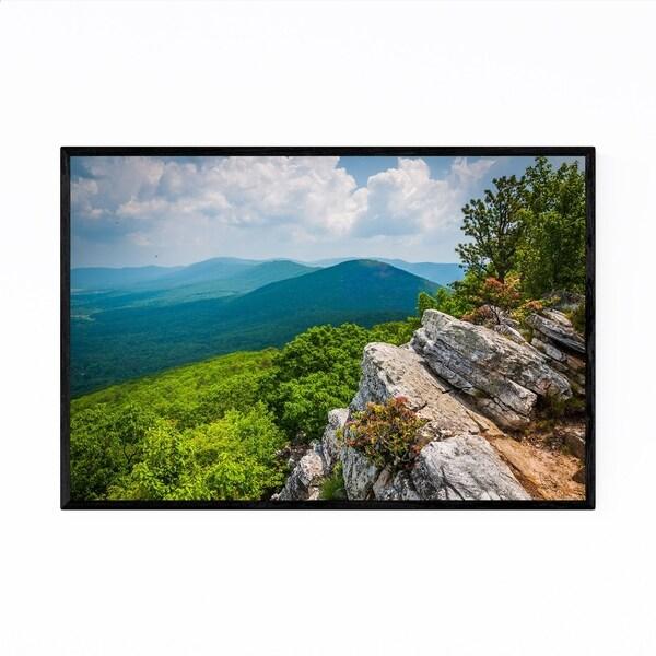 Noir Gallery Appalachian Mountains Virginia Framed Art Print